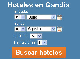 Reservar hotel Gandia